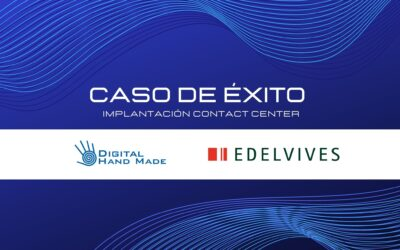 Caso de Éxito implantación Contact Center Fidelity en Grupo Edelvives