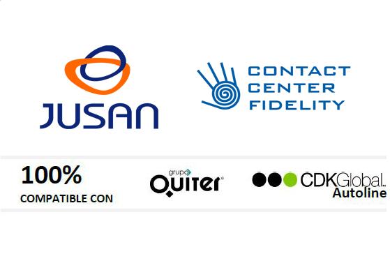 Contact Center Fidelity, el único CC integrado con los principales DMS de automoción Quiter, Aswin y Autoline